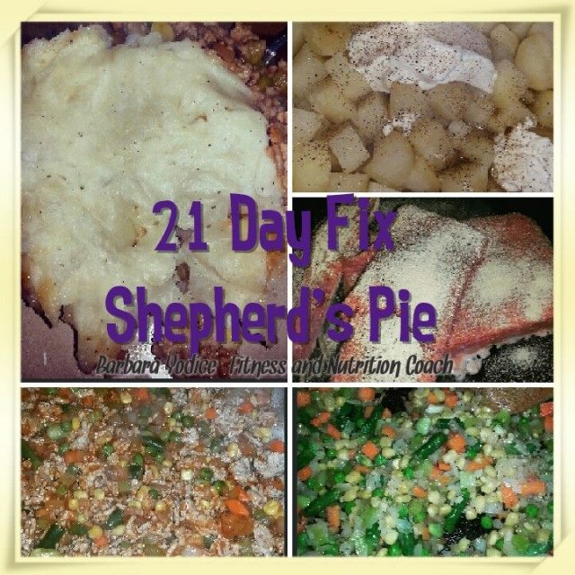 21 Day Fix Approved Shepherd S Pie Angels Of Fitness